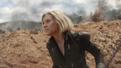Black Widow in Infinity War