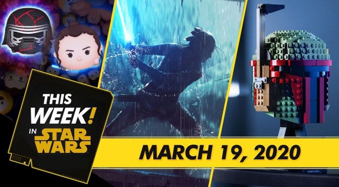 This Week! in Star Wars | Behind the Scenes of Star Wars: The Rise of Skywalker, LEGO Bucketheads, and More!