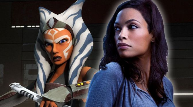 Rosario Dawson Cast as Ahsoka Tano
