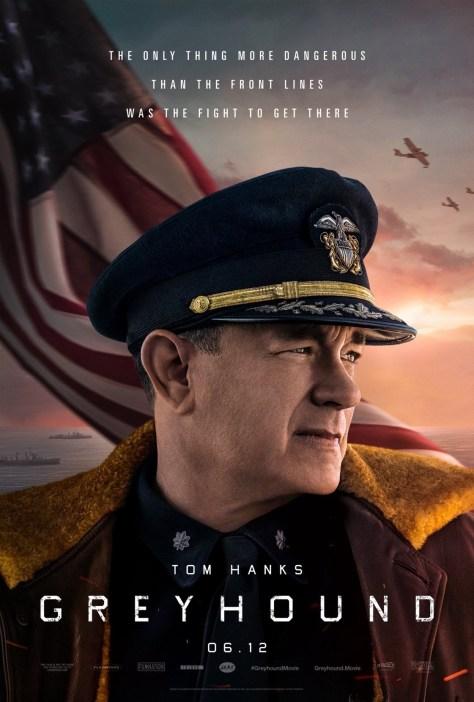 Tom Hanks Greyhound Poster