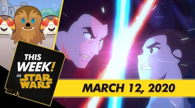 This Week! in Star Wars | New Star Wars Galaxy of Adventures, Wookiee Hugs in Disney Emoji Blitz, and More!
