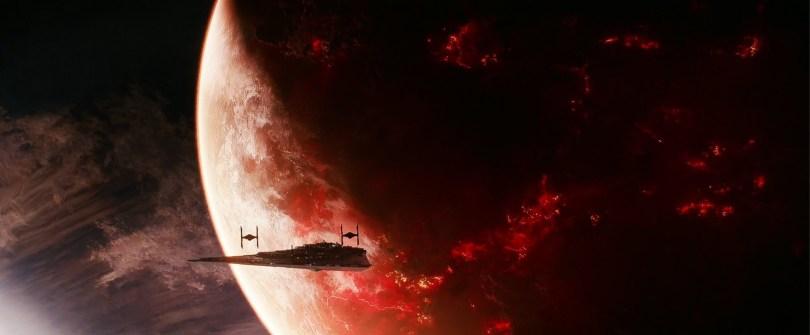 Attack on Mustafar - Star Wars The Rise Of Skywalker