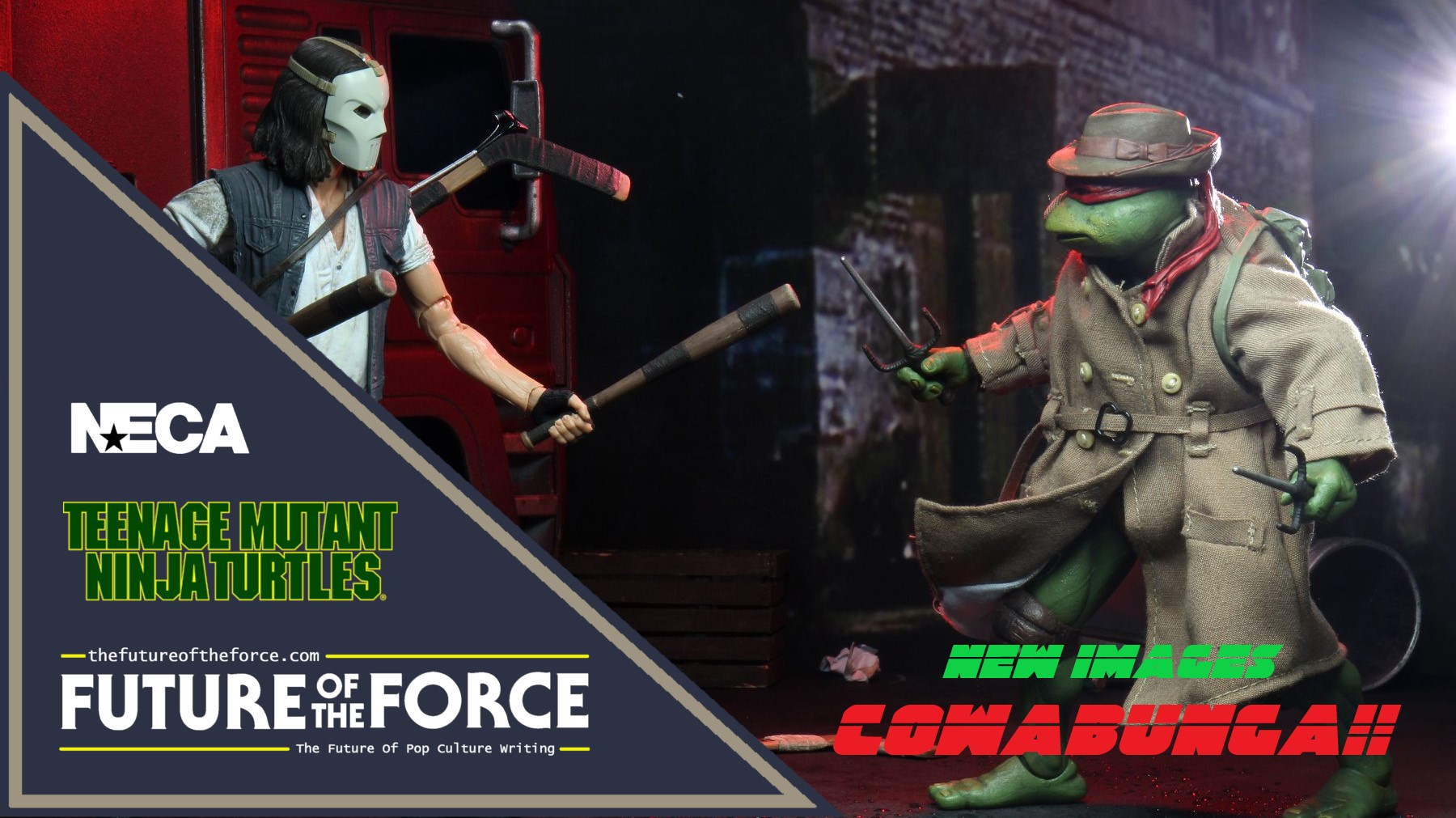 Updated New Images Casey Jones And Raphael Trench Coat Teenage Mutant Ninja Turtles 1990 Movie Neca Future Of The Force