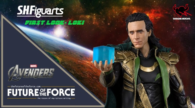 First Look - Loki S.H. Figuarts Avengers