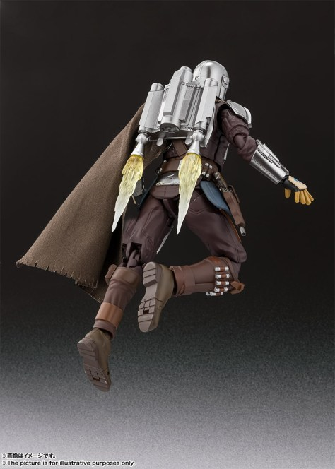 S.H. Figuarts Mandalorian Beskar Armor 006