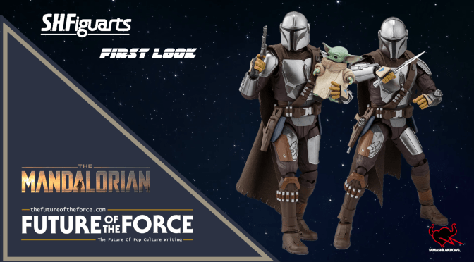 First Look | S.H. Figuarts Mandalorian (Beskar Armor) and Child Figures by Tamashii Nations