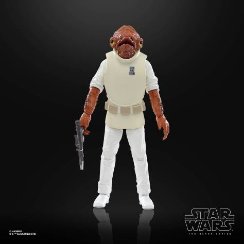 STAR WARS THE BLACK SERIES 6 INCH ADMIRAL ACKBAR Figure 001