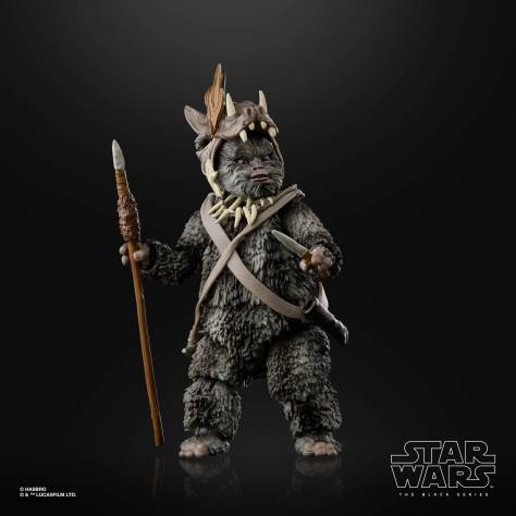STAR WARS THE BLACK SERIES 6 INCH TEEBO EWOK Figure 003