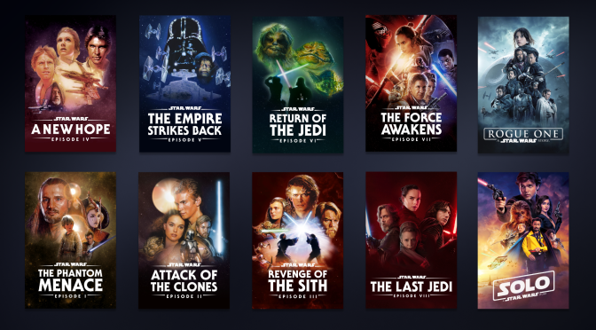 Disney+ | The Top 5 Things To Watch in the 'Star Wars' Category