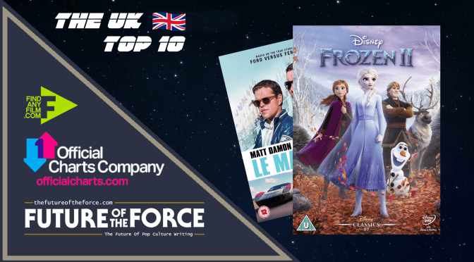 The Official Film Chart | The U.K Top Ten (1st April)