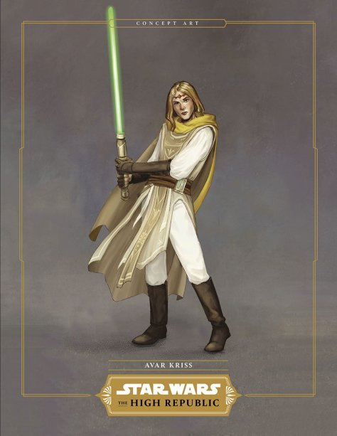 Star Wars The High Republic - Avar Kriss