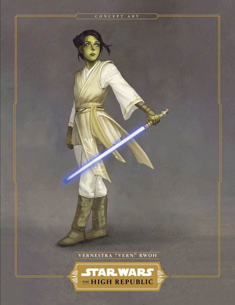 Star Wars The High Republic - Vernestra Vern Rwoh
