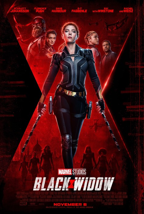 Marvel Studios' Black Widow - Updated Poster