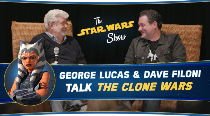 The Star Wars Show | George Lucas and Dave Filoni Talk The Clone Wars, Plus Anthony Daniels Stops By!