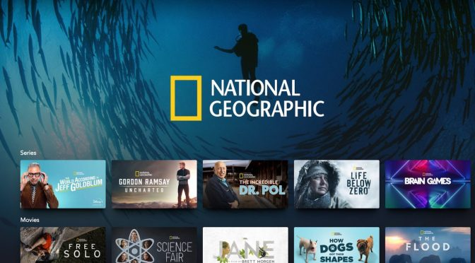 Disney+ | The Top 5 Things To Watch in the National Geographic Category