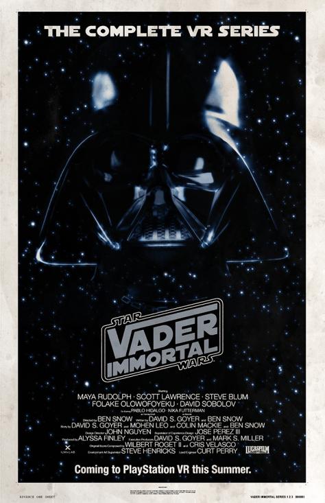 Star Wars Vader Immortal Empire Strikes Back Anniversary Poster