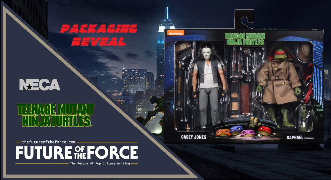 Packaging Reveal Casey Jones And Raphael Teenage Mutant Ninja