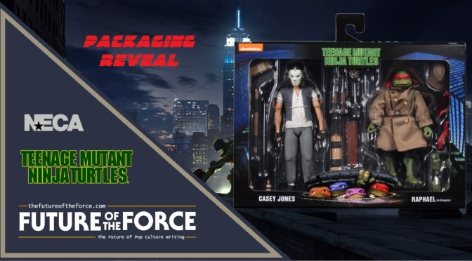 Packaging Reveal | Casey Jones And Raphael 'Teenage Mutant Ninja Turtles' (1990 Movie) NECA