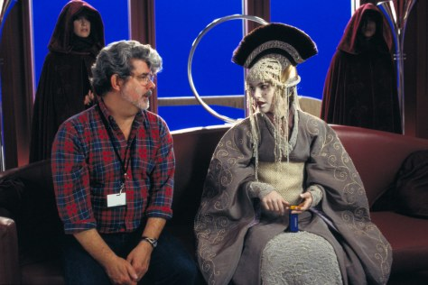 Behind-The-Scenes-George-Lucas-Amidala