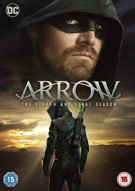 Arrow Season 8 DVD