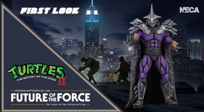 Teenage Mutant Ninja Turtles II: The Secret of the Ooze | NECA's Super Shredder Revealed