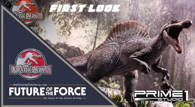 First Look | Jurassic Park III Spinosaurus Statue (Prime 1 Studio)