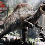 Jurassic Park 3 Spinosaurus Statue 001