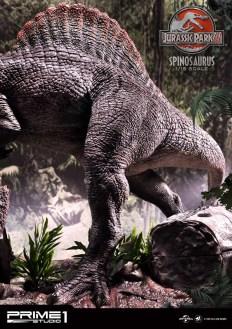 Jurassic Park 3 Spinosaurus Statue 018
