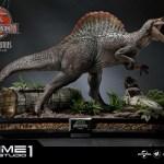 Jurassic Park 3 Spinosaurus Statue 019