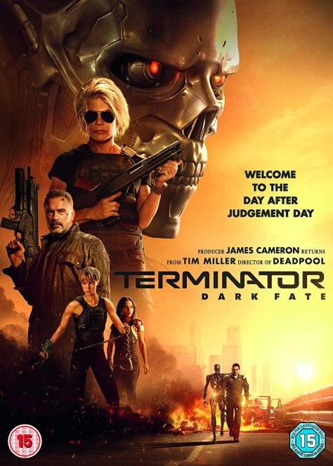 Terminator Dak Fate DVD