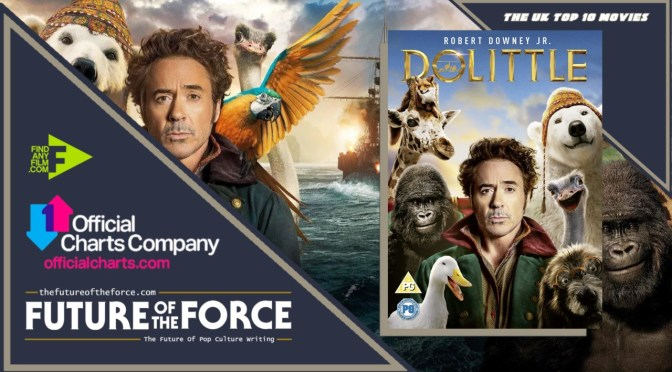 The Official Film Chart | The UK Top Ten (10th June)