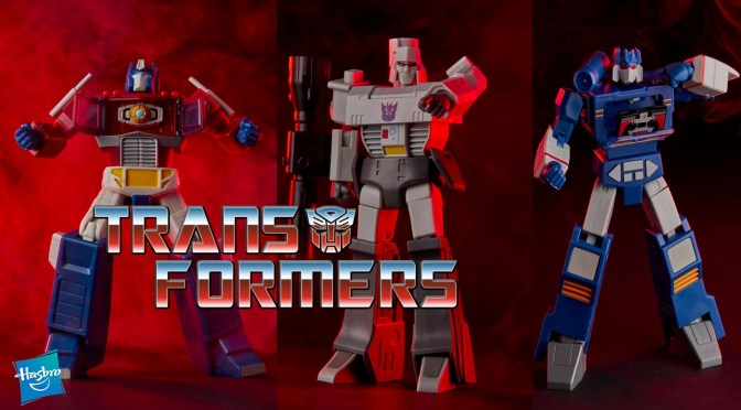 Transformers Optimus Prime, Megatron and Soundwave R.E.D. Figures Revealed