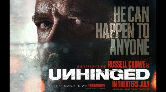 Unhinged | Crowe's Movie Gets New Poster