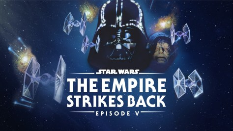 Star Wars: The Empire Strikes Back Disney Plus Poster