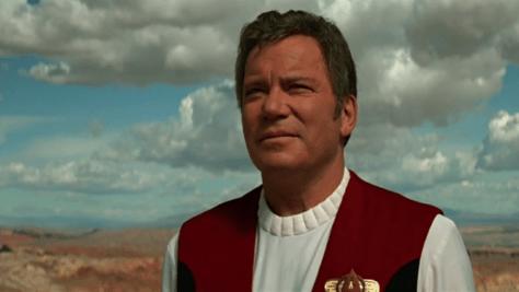 Star Trek Generations - William Shatner as James T. Kirk