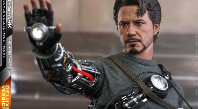 Hot Toys | First Look At Tony Stark (Mech Tech Version) Re-Issue