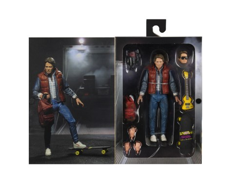 Back to the Future 1985 Marty Mcfly NECA 002