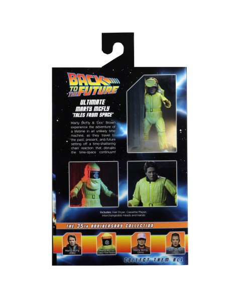 Back to the Future Tales From Space Marty Mcfly 002 NECA