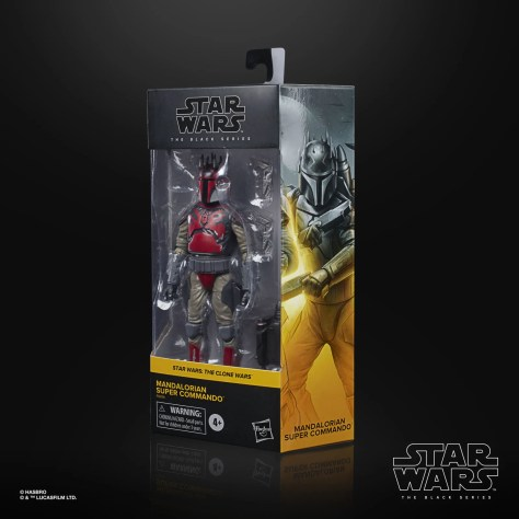 Black Series Clone Wars Mandalorian Super Commando 002