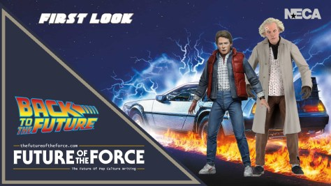 First Look NECA Back To The Future Figures