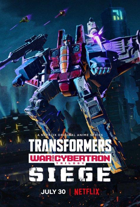 Transformers: War For Cybertron: Siege - Starscream Poster