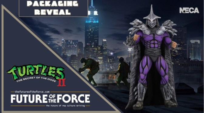 Packaging Reveal | Super Shredder 'Teenage Mutant Ninja Turtles II: The Secret Of The Ooze' NECA