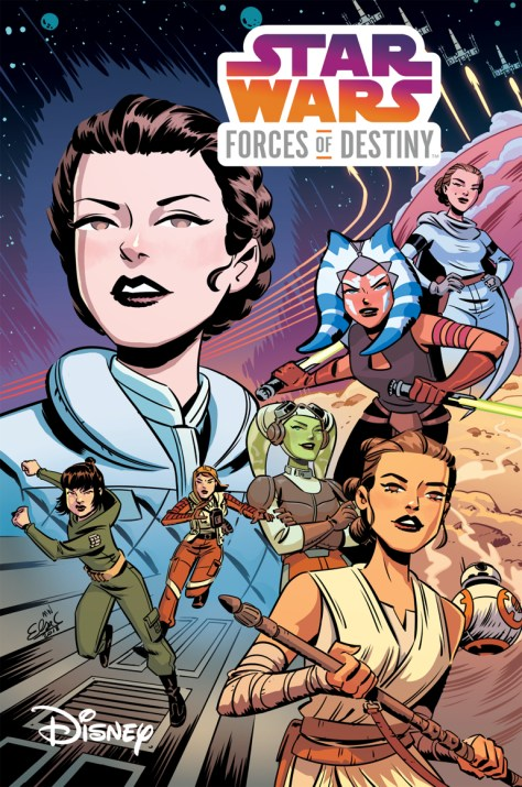 Star Wars Forces Of Destiny IDW