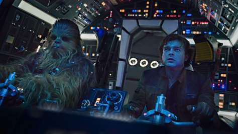 Solo A Star Wars Story - Han and Chewie