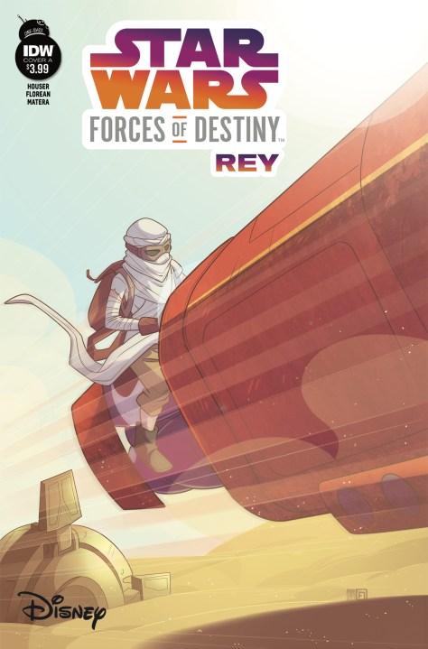 Star Wars Forces Of Destiny Rey