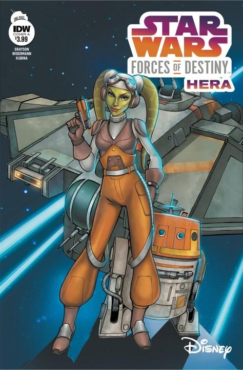 Star Wars Adventures: Forces of Destiny Hera
