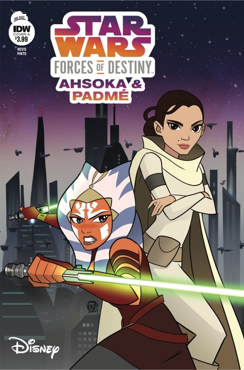 Star Wars Adventures: Forces of Destiny Ahsoka and Padme