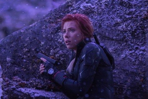 Black Widow in Avengers Endgame