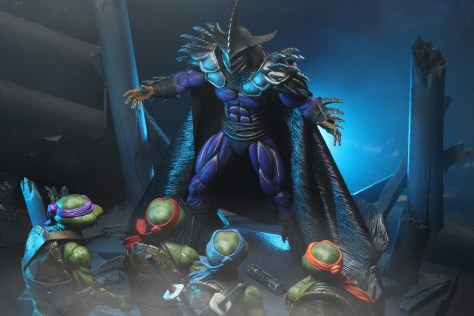 NECA TMNT 2 Deluxe Super Shredder 007