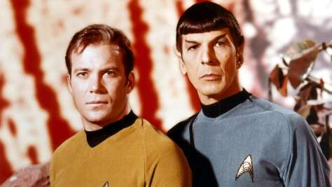 Star Trek The Original Series Kirk and Spock